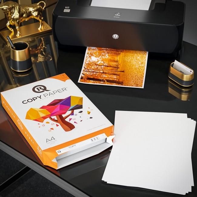 5 Topuri/Cutie de Hartie Copiator A4 R A4 R CopyPaper Premium 80g/mp 500 coli/top pentru xerox si imprimanta