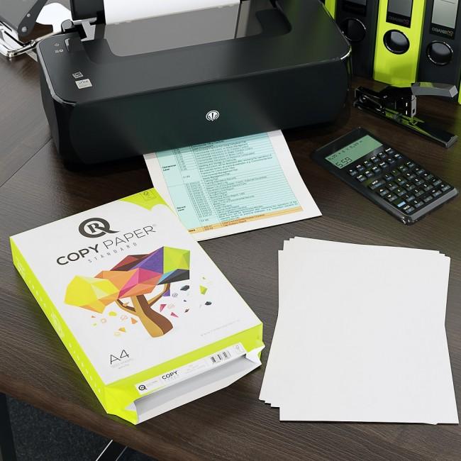 5 Topuri/Cutie de Hartie Copiator A4 R A4 R CopyPaper Standard 80g/mp 500 coli/top pentru xerox si imprimanta